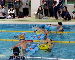 ウェルネス倶楽部水泳教室 運動会